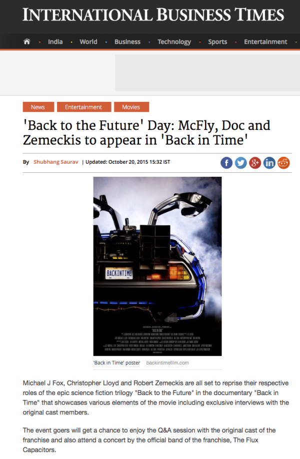 83cdf4b24  Back to the Future  Day  McFly